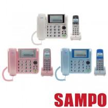 SAMPO聲寶 無線電話2.4GHz高頻數位 CT-W1305DL(庫存出清不挑色)