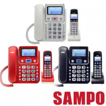 SAMPO聲寶 2.4GHz高頻數位無線電話 CT-W1304DL