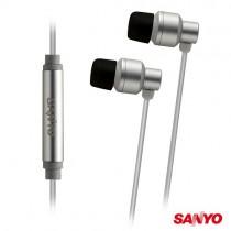 SANYO三洋 iPhone專用入耳式耳機麥克風 ERP-M25
