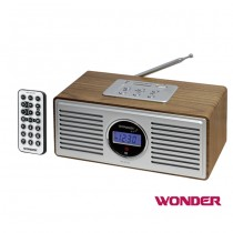 WONDER旺德 USB/SD/FM MP3隨身音響 WD-8212U【福利品】(隨機出貨不挑色)
