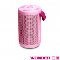 WONDER旺德 藍牙隨身音響 WS-T020U-P 嫩桃粉