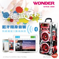 WONDER旺德 藍牙KTV音響/派對機 WS-T024U