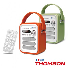THOMSON湯姆盛 藍牙隨身音響 TM-TCDT10U 綠色