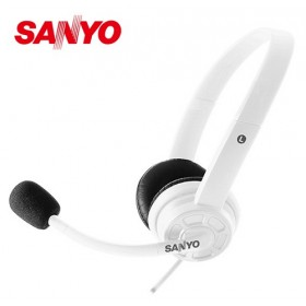 SANYO三洋 頭戴式耳機麥克風 ERP-M24